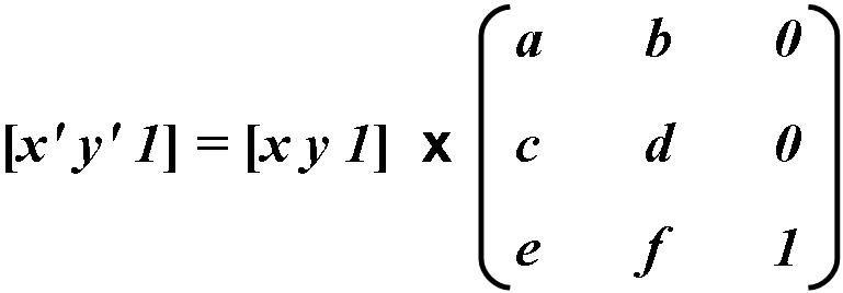 Transfomation Matrix